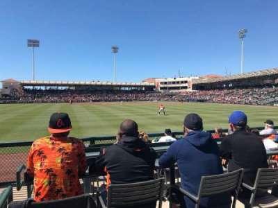 Ed Smith Stadium, section: LF Pavillion 129, row: 4, seat: 16