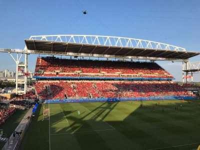 BMO Field, section: 227, row: 3, seat: 1