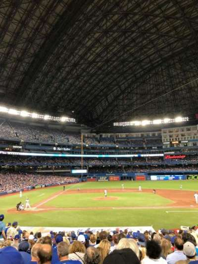 Rogers Centre, section: 118R, row: 27 , seat: 10