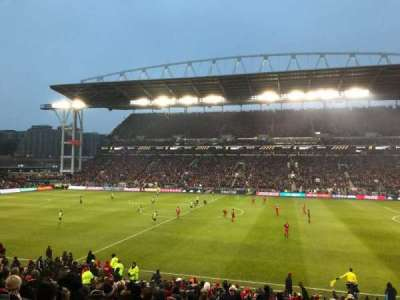 BMO Field, section: 122, row: 18, seat: 17