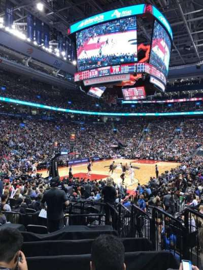 Air Canada Centre, section: 112, row: 12, seat: 4