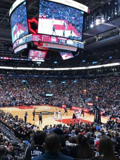 Air Canada Centre, section: 104, row: 16, seat: 16