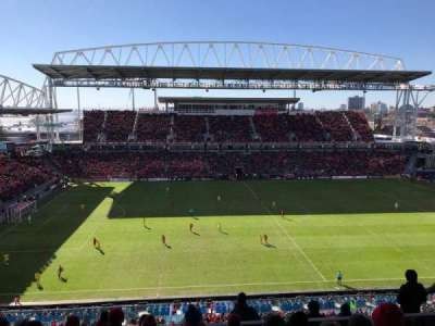 BMO Field, section: 208, row: 11, seat: 16