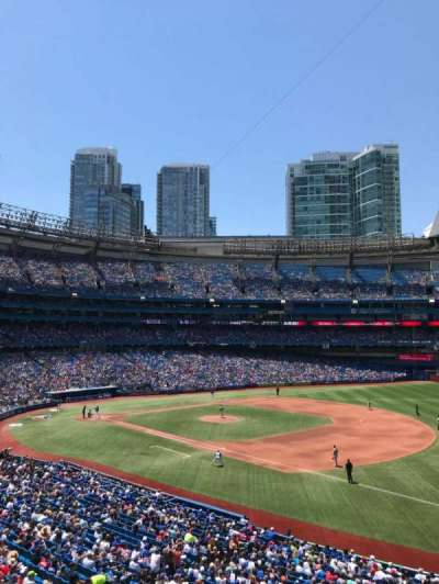 Rogers Centre, section: 214L, row: 3, seat: 101