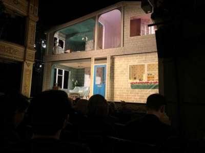 Duke of York's Theatre, section: Stalls, row: F, seat: 20