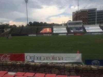 American Legion Memorial Stadium, section: 19R, row: F, seat: 13