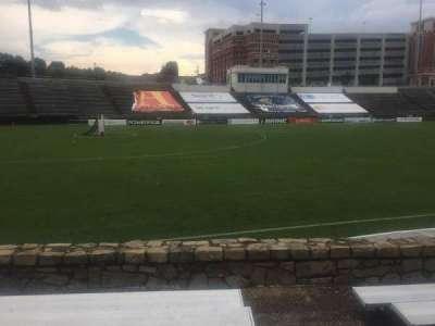 American Legion Memorial Stadium, section: 21R, row: F, seat: 1
