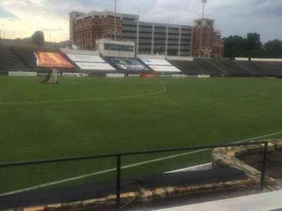 American Legion Memorial Stadium, section: 21L, row: F, seat: 14
