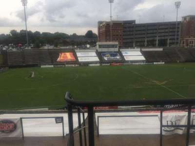 American Legion Memorial Stadium, section: 11, row: GG, seat: 2