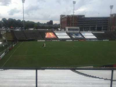 American Legion Memorial Stadium, section: 15, row: Hh, seat: 2