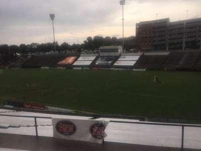 American Legion Memorial Stadium, section: 2, row: FF, seat: 42