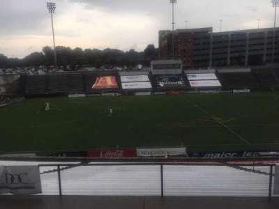 American Legion Memorial Stadium, section: 6, row: SS, seat: 31