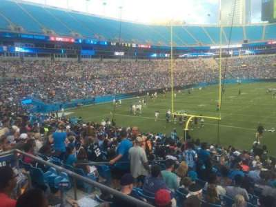 Bank of America Stadium section 110