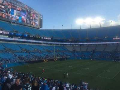Bank of America Stadium, section: 112, row: 21, seat: 19