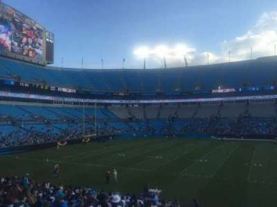 Bank of America Stadium, section: 112, row: 20, seat: 17
