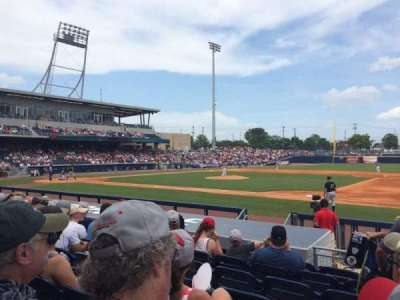 First Tennessee Park, section: 118, row: L, seat: 2