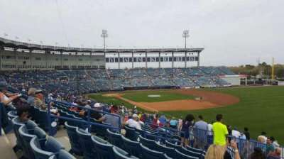 George M. Steinbrenner Field, section: 201, row: L, seat: 5