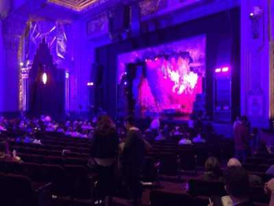 Pantages Theatre (Hollywood), section: Right Orchestra, row: V, seat: 110