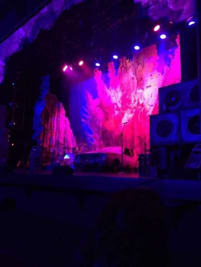 Pantages Theatre (Hollywood), section: Orchestra RC, row: B, seat: 206