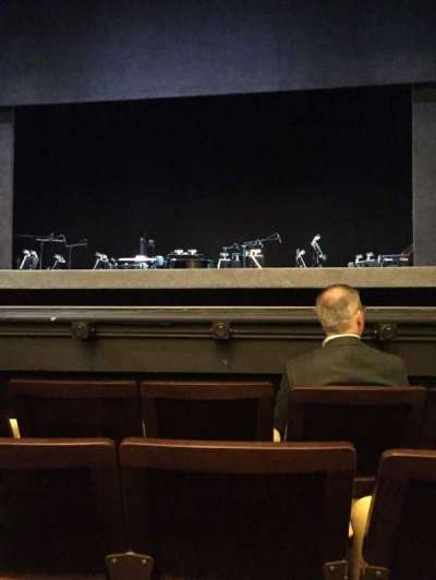 Hudson Theatre, section: Irchestra, row: D, seat: 112