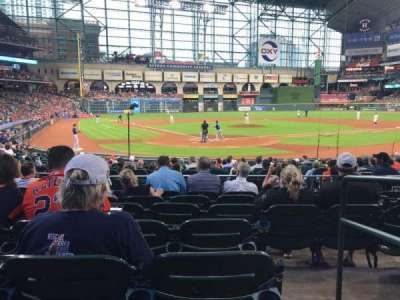 Minute Maid Park, section: 120, row: 18, seat: 11