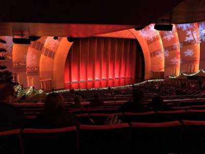Radio City Music Hall, section: 1st Mezzanine 7, row: G, seat: 709