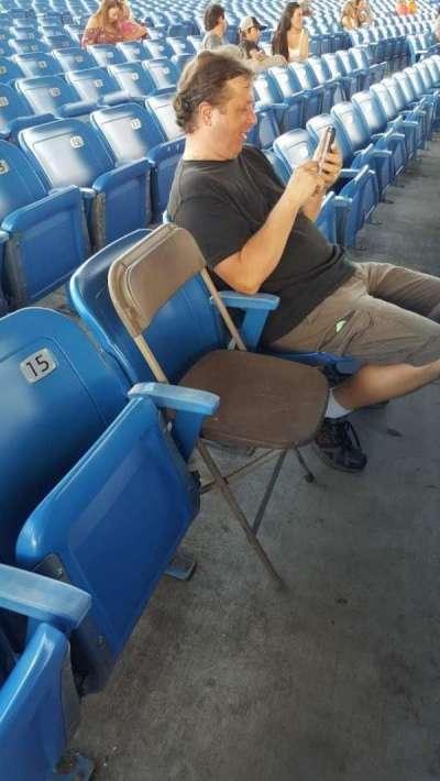 MidFlorida Credit Union Amphitheatre, section: 13, row: H, seat: 14