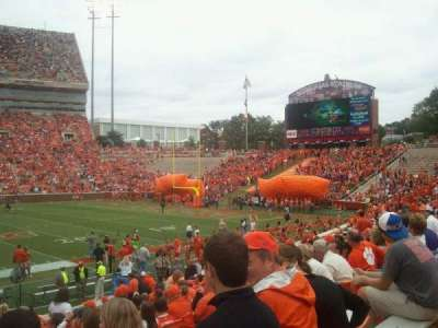 Memorial Stadium, Clemson section E