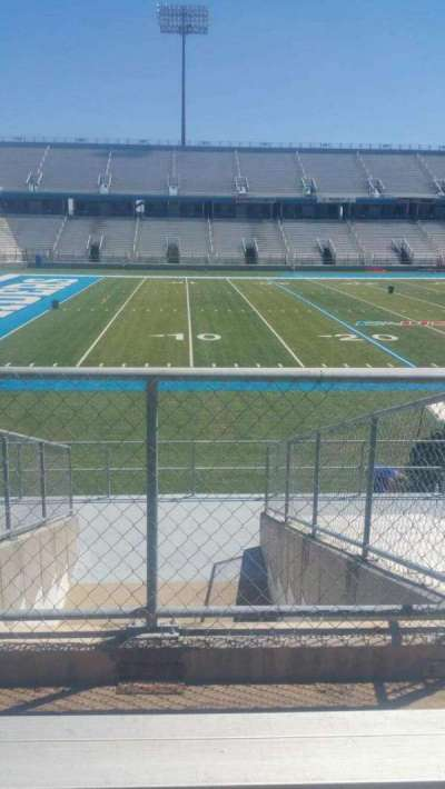 Johnny Red Floyd Stadium, section: 1T, row: 13, seat: bleacher