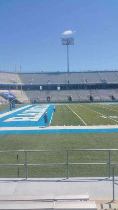 Johnny Red Floyd Stadium, section: 2T, row: 7, seat: bleacher