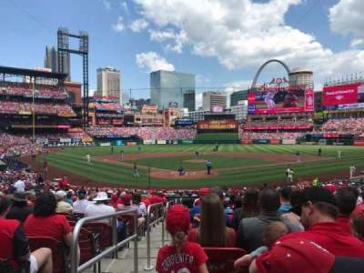 Busch Stadium, section: 149, row: 17, seat: 1