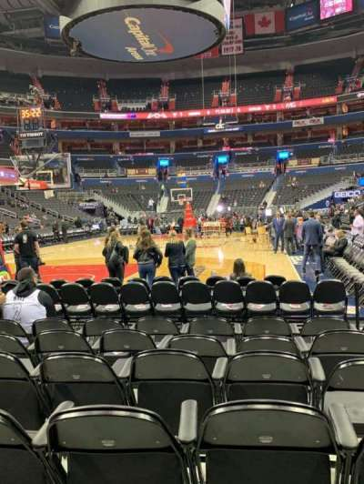 Capital One Arena, section: BOXW, row: HHH, seat: 29