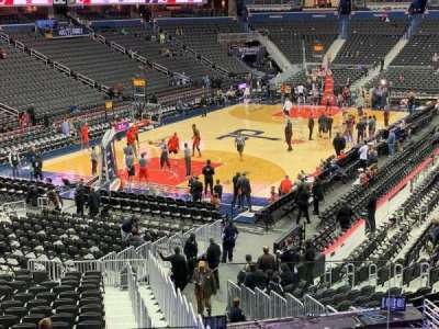 Capital One Arena, section: 118, row: V, seat: 19