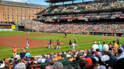 Oriole Park at Camden Yards section 58