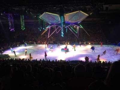 Infinite Energy Arena, section: 105, row: W, seat: 2,3,4,5