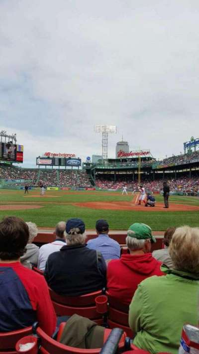 Fenway Park, section: Field Box 51, row: C, seat: 4