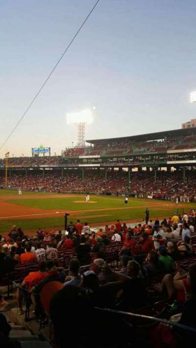Fenway Park section Loge Box 157