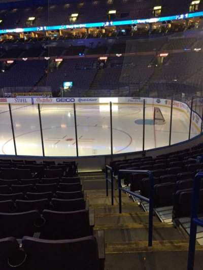 Scottrade Center, section: 114, row: M, seat: 1