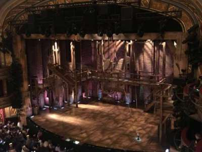 Richard Rodgers Theatre, section: FMezz, row: E, seat: 22
