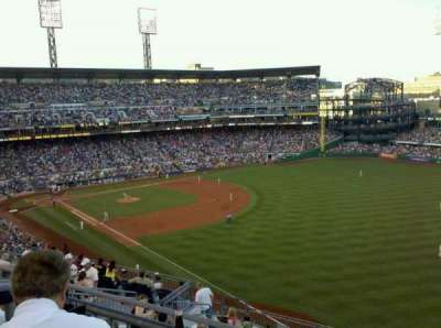 PNC Park, section: 301, row: H, seat: 6