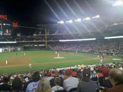 Nationals Park, section: 115, row: JJ, seat: 5