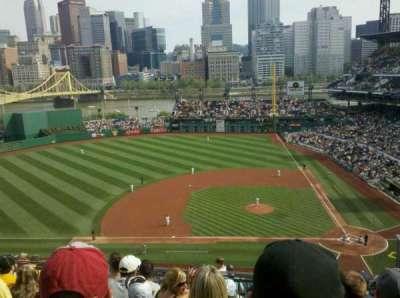 PNC Park, section: 322, row: M, seat: 4