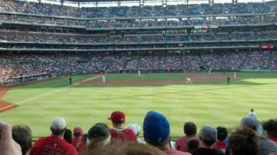 Citizens Bank Park, section: 105, row: 8, seat: 9