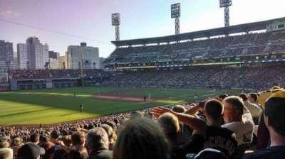 PNC Park, section: 129, row: Z, seat: 6