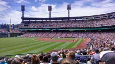 PNC Park, section: 132, row: U, seat: 4