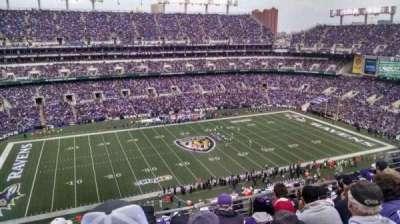M&T Bank Stadium, section: 529, row: 8, seat: 10