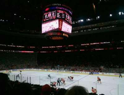 Wells Fargo Center, section: 115, row: 16, seat: 4
