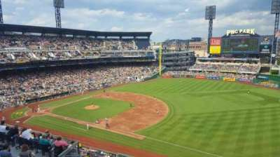 PNC Park, section: 305, row: D, seat: 12
