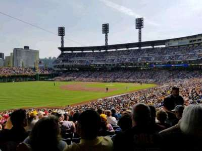PNC Park, section: 130, row: DD, seat: 5