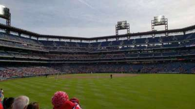 Citizens Bank Park, section: 102, row: 4, seat: 11